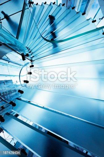 180698194istockphoto Futuristic Glass Staircase 157429434