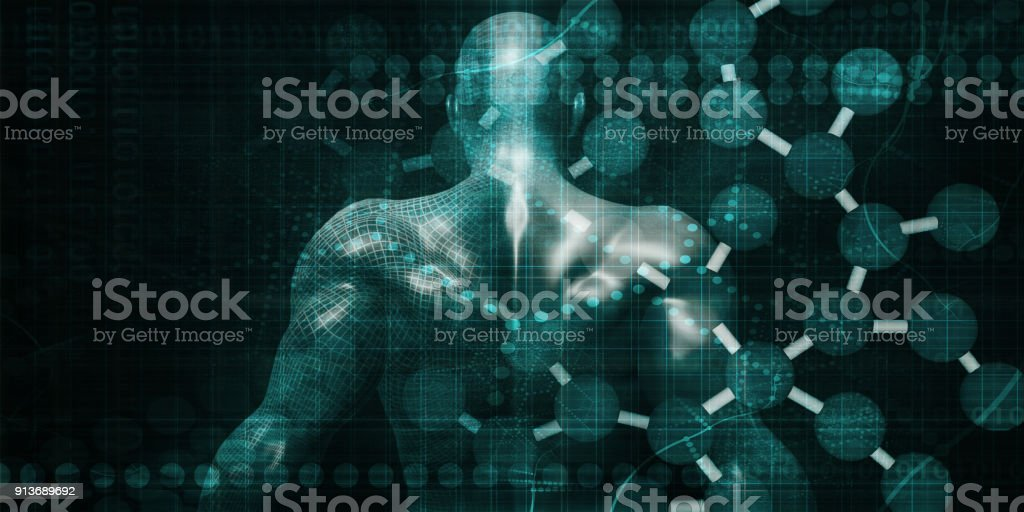 Futuristic Graph stock photo