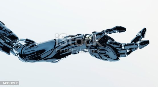 istock Futuristic innovation - artificial arm 149868893