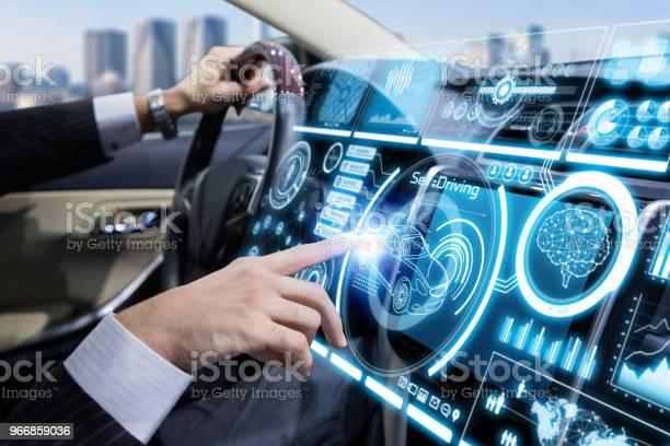 Futuristische Armaturenbrett Des Fahrzeugs Stockfoto und mehr Bilder von Armaturenbrett