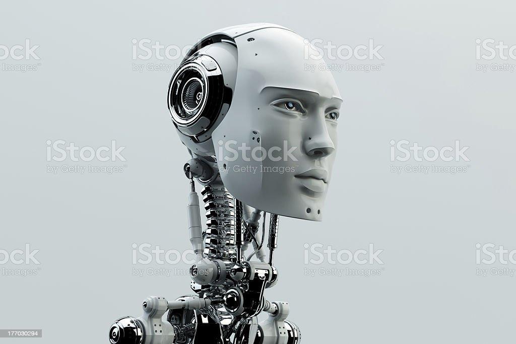 Futuristische Mann – Foto
