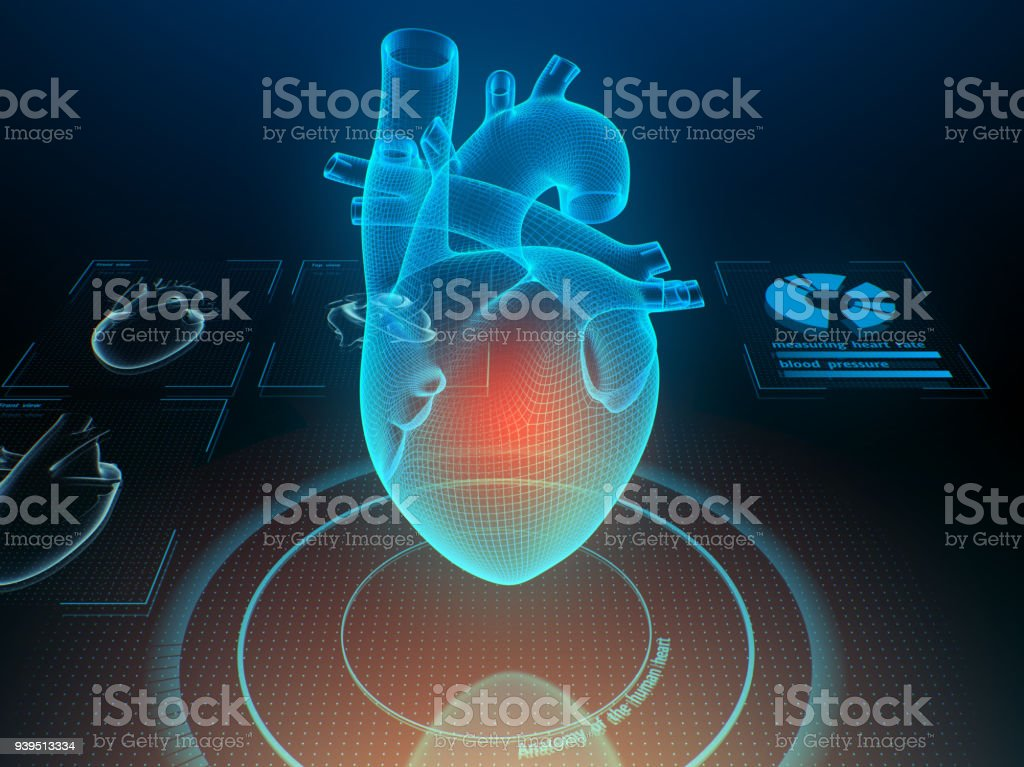 Concept de médecine futuriste. - Photo