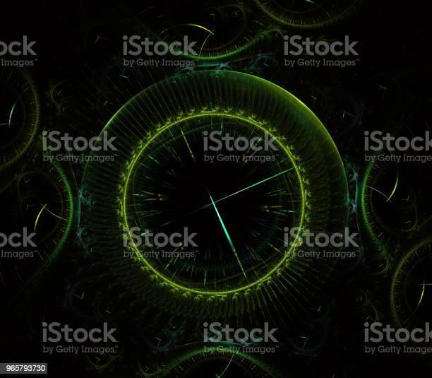 Футуристические Современные Часы Смотреть Абстрактные Фрактальные Сюрреалистические Необычный Абстрактный Шаблон Текстуры Фрактальног — стоковые фотографии и другие картинки Абстрактный