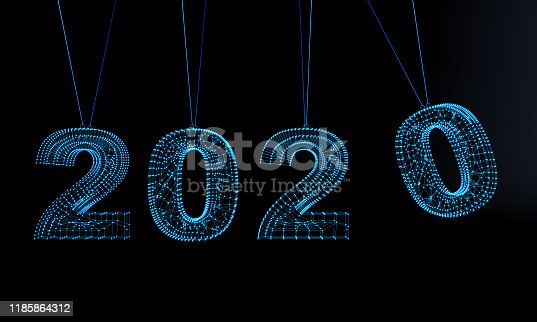 1063751940istockphoto Futuristic New Year 2020 Background 1185864312