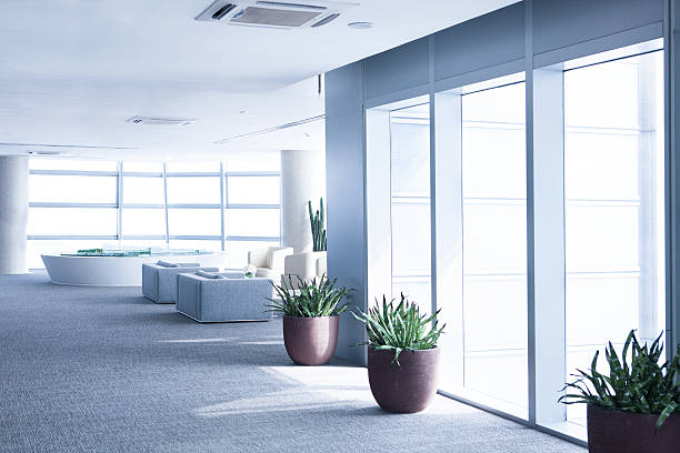 Futuristische office building – Foto