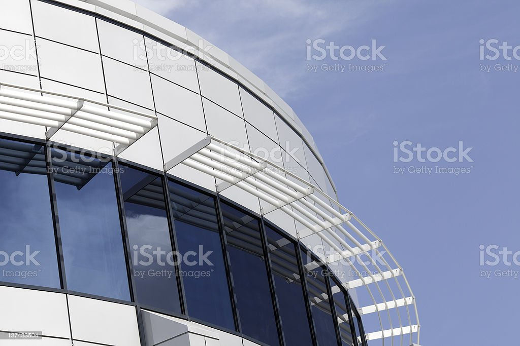 Futuristic Office stock photo