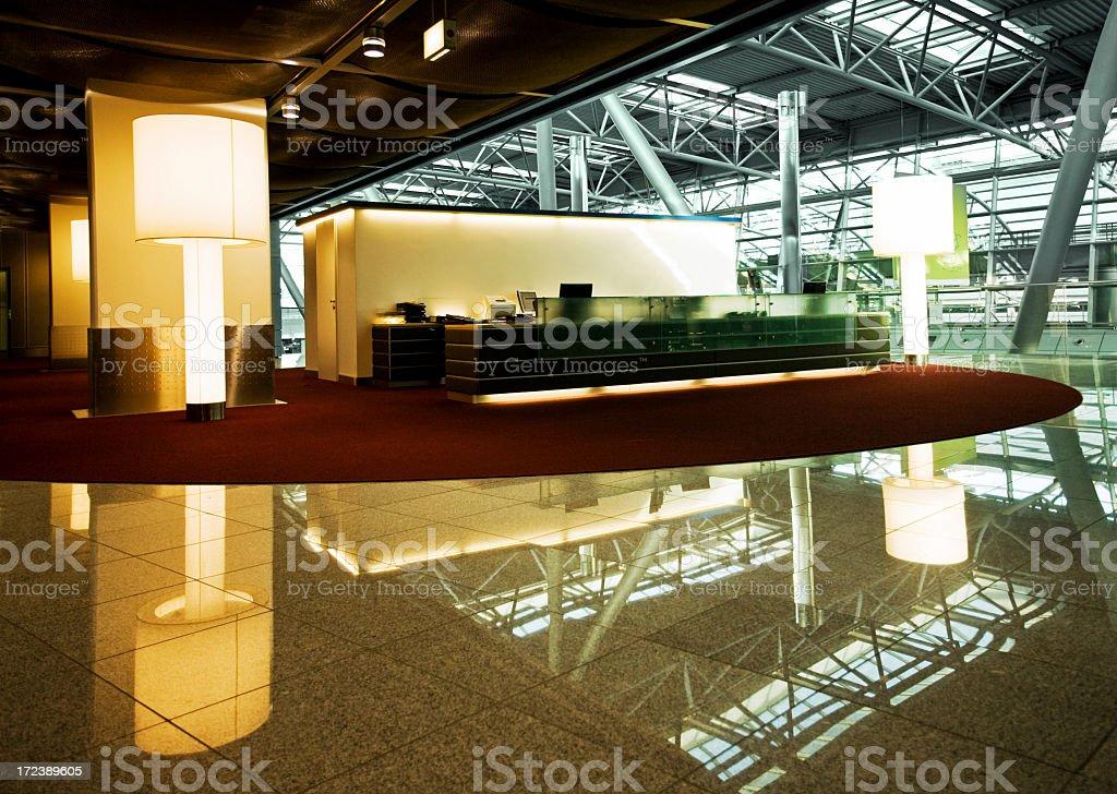 Futuristic office royalty-free stock photo