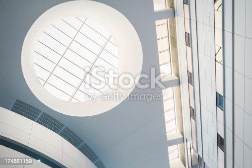 187035172 istock photo Futuristic Office Roof 174861159