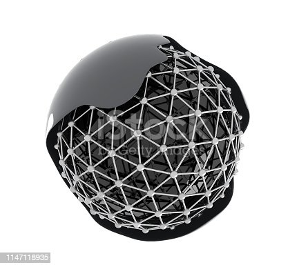 Futuristic orb