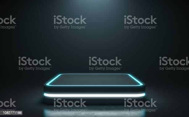 Futuristic pedestal for display picture id1082771186?b=1&k=6&m=1082771186&s=612x612&h=6zakgzz6ay8teftxa zf0anespyckwuz5rimrmfwh5a=
