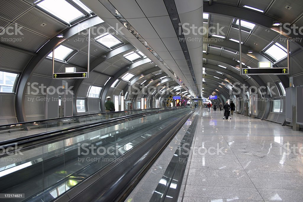 Futuristic people mover royalty-free stock photo