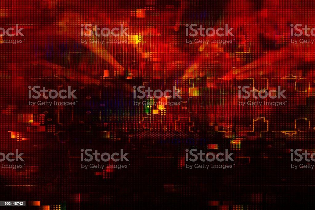 Futuristiska retro bakgrunden av 80-talet retro stil. Digital eller Cyber yta. neonljus och geometriska mönster. - Royaltyfri 1990-1999 Bildbanksbilder