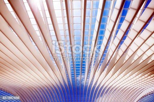 istock Futuristic Roof 637882656