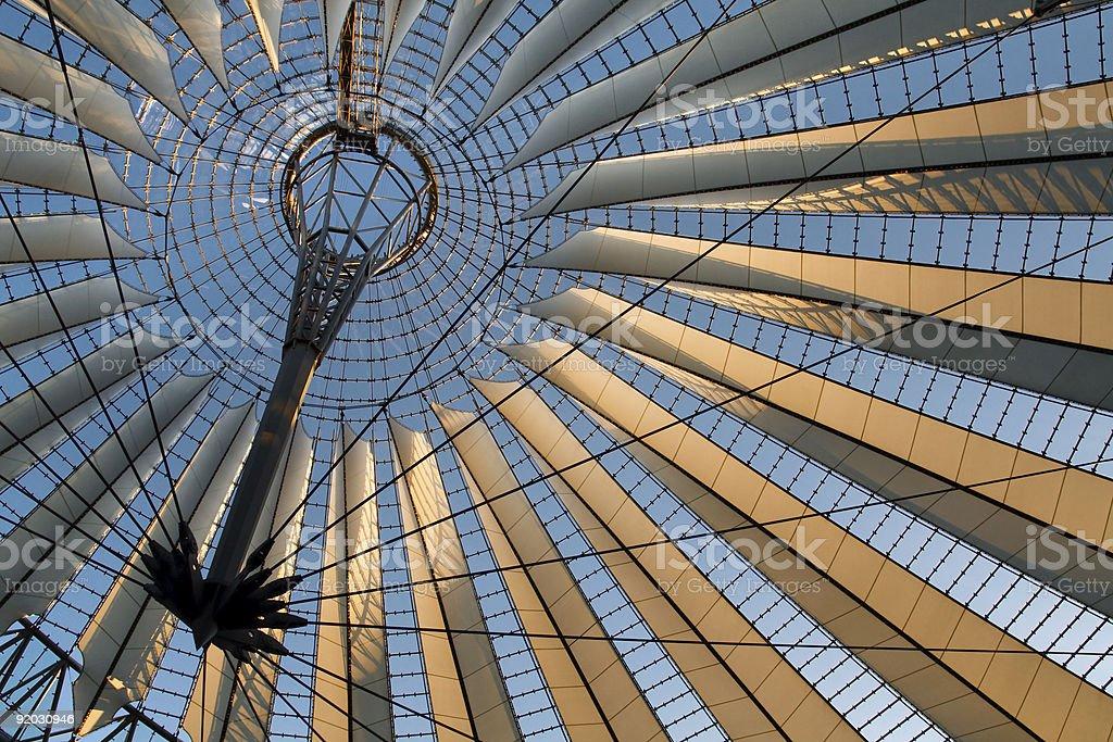 Futuristic roof royalty-free stock photo
