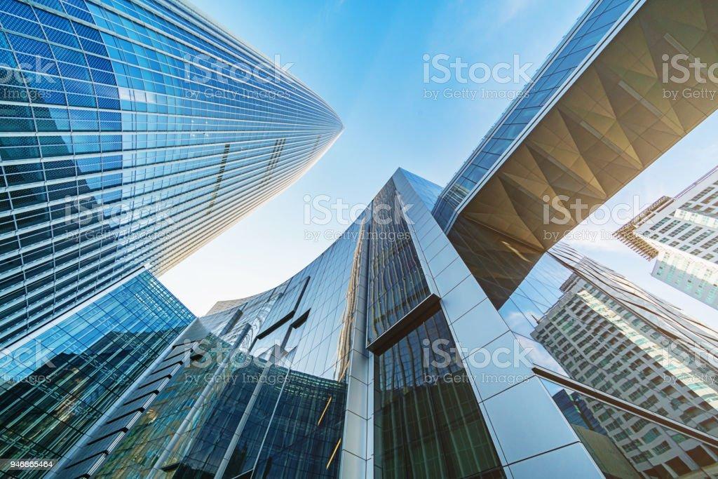 Futuristische Wolkenkratzer Songpa-Gu Seoul Südkorea – Foto