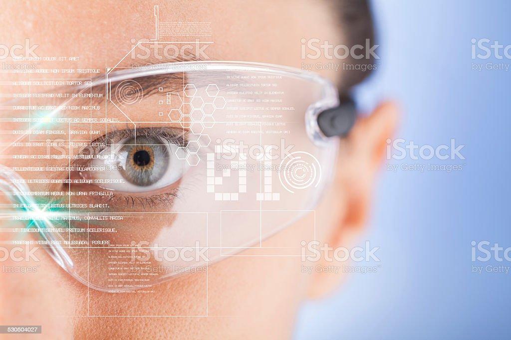 Futuristisch smart Brille – Foto