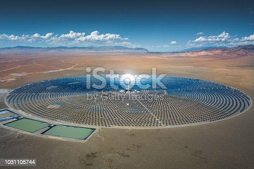 istock Futuristic Solar Thermal Power Station 1031105744