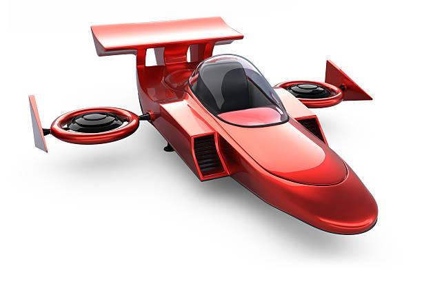 Futuristic Space Racing Ship stock photo