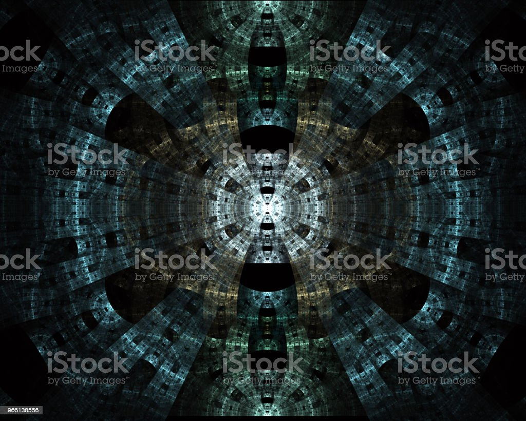Futuristic tech circle with various technological. Technology digital background illustration - Royalty-free Abstract Stock Photo