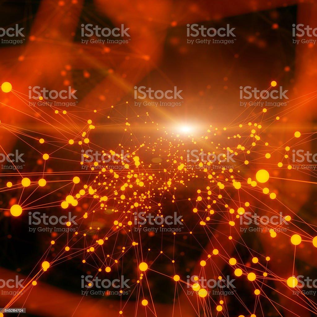 Futuristische Technologic Hintergrund – Foto