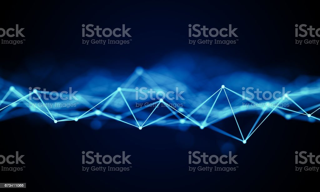 Futuristic technology background. Internet data connection. Cloud networks. stock photo