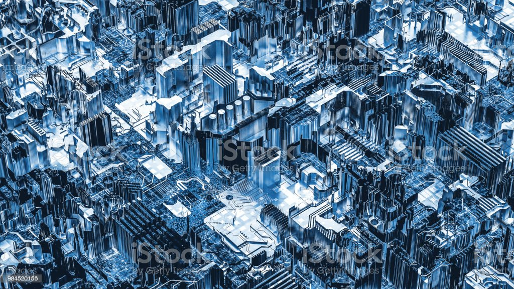Futuristic technology background stock photo
