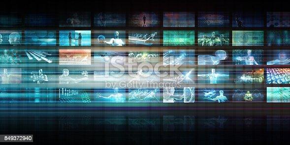 istock Futuristic Technology 849372940