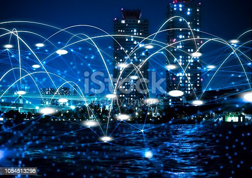 1013969318istockphoto Futuristic tokyo electromagnetic signals 1054513298