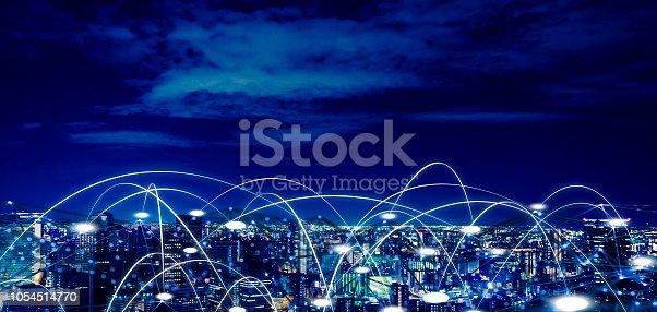1013969318istockphoto Futuristic tokyo electromagnetic signals 1054514770