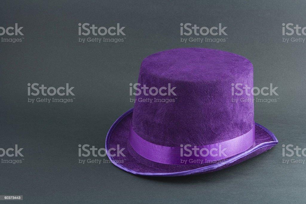 Fuzzy Purple Hat