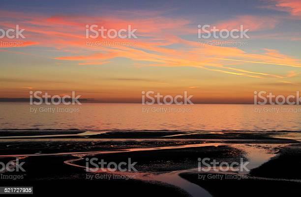 Fylde Coast Sunset Stock Photo - Download Image Now