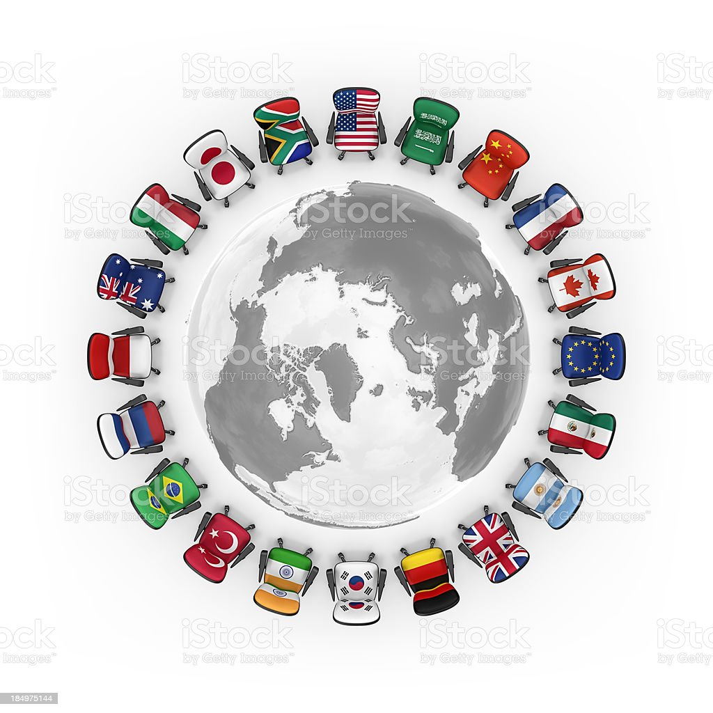 g20 royalty-free stock photo