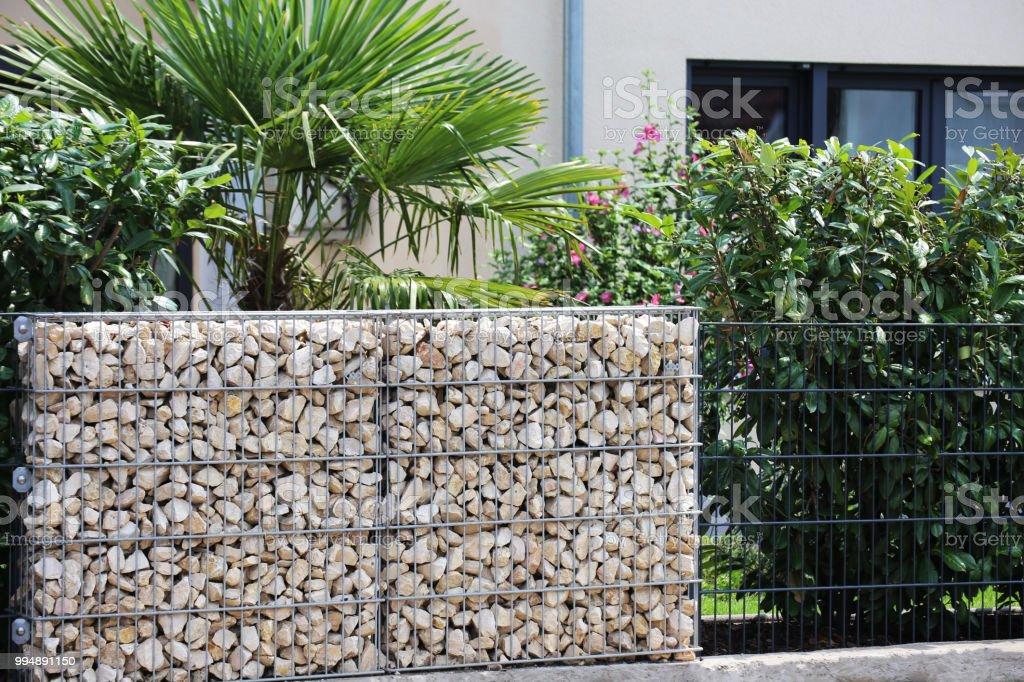Mur De Clôture De Gabion – Photos et plus d\'images de Allemagne   iStock
