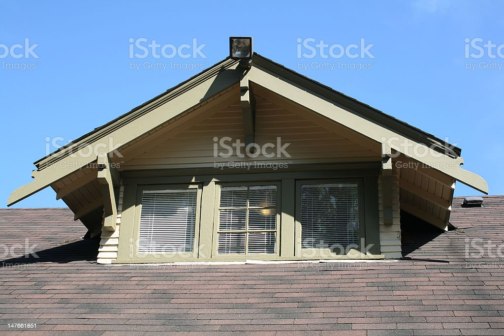 Gable Dormer stock photo