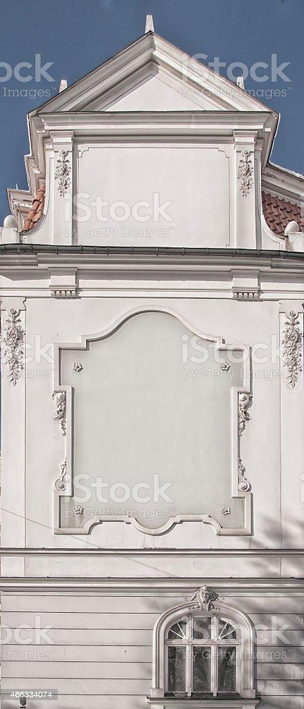 Gable End in Riga, Latvia stock photo