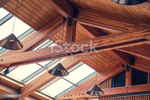 Gable roof interior