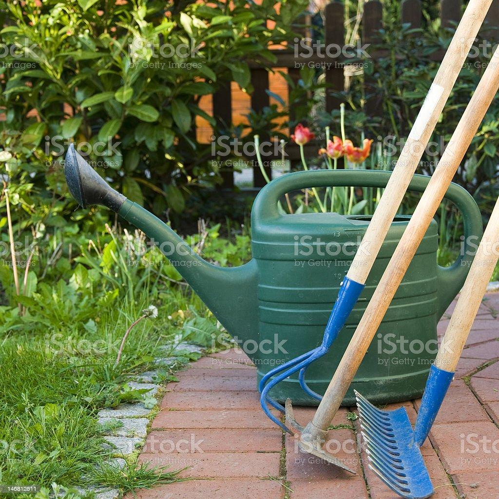 Gadening equipment stock photo