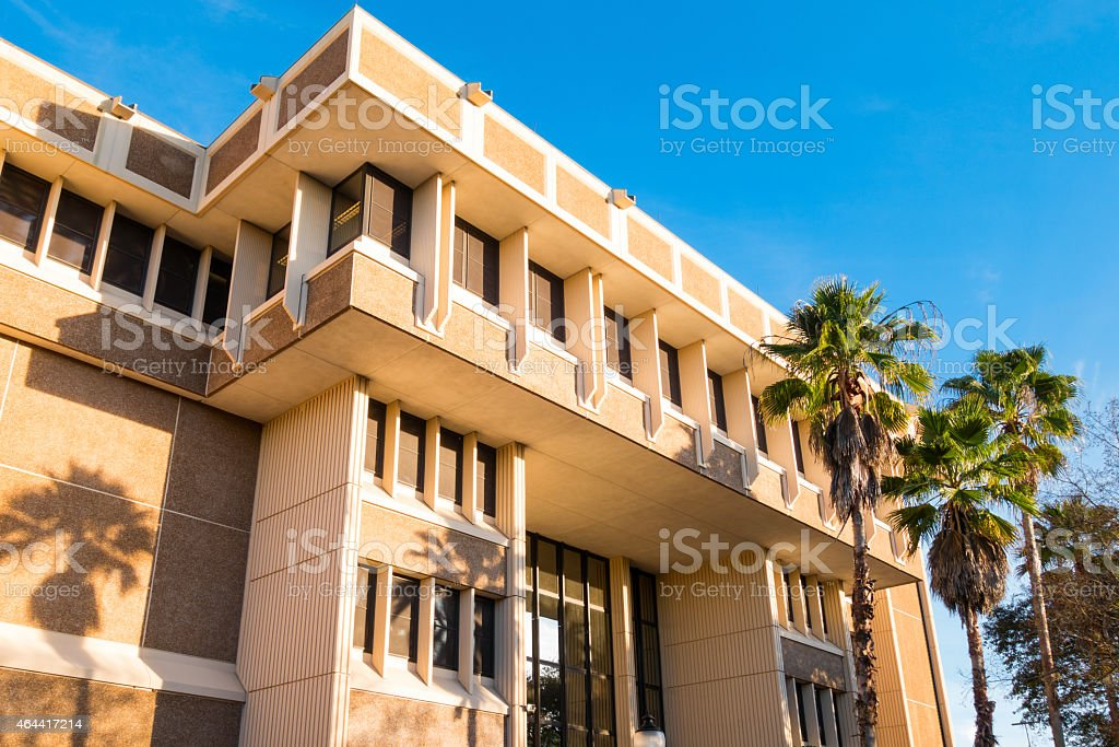 Gainesville Florida Courthouse Royalty Free Stock Photo