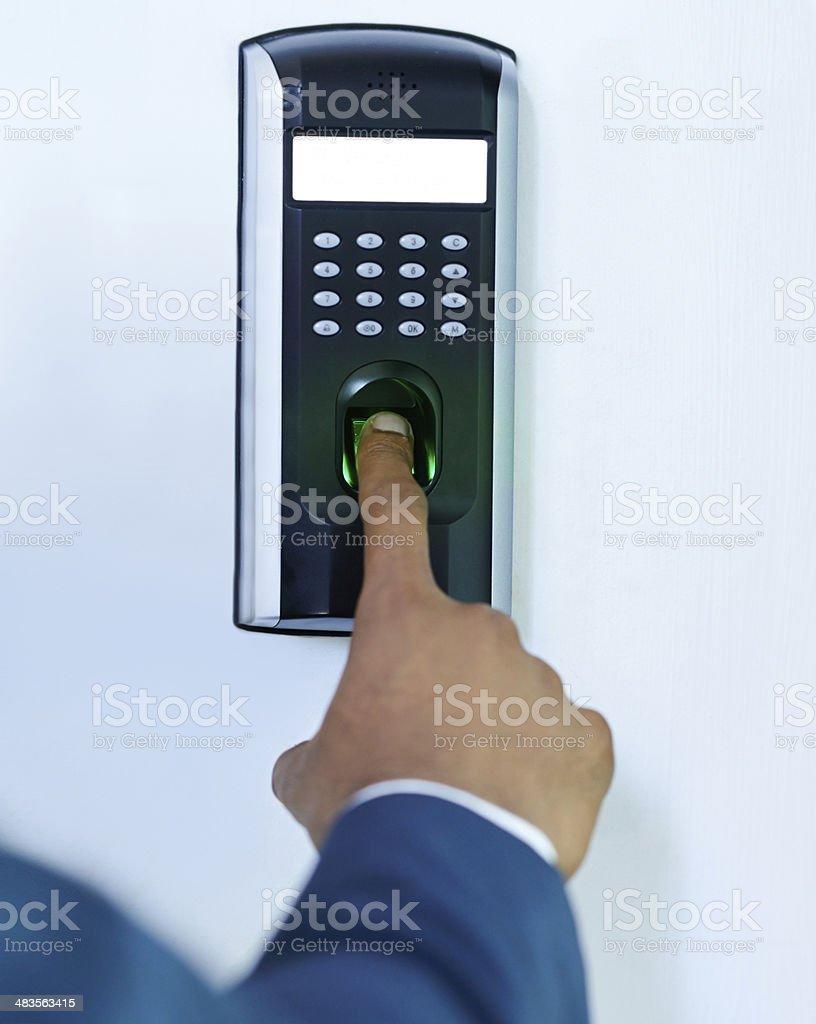 Gaining access stock photo