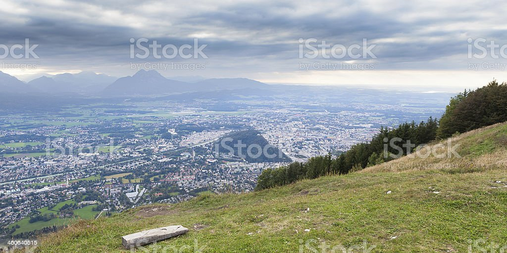 Gaisberg stock photo
