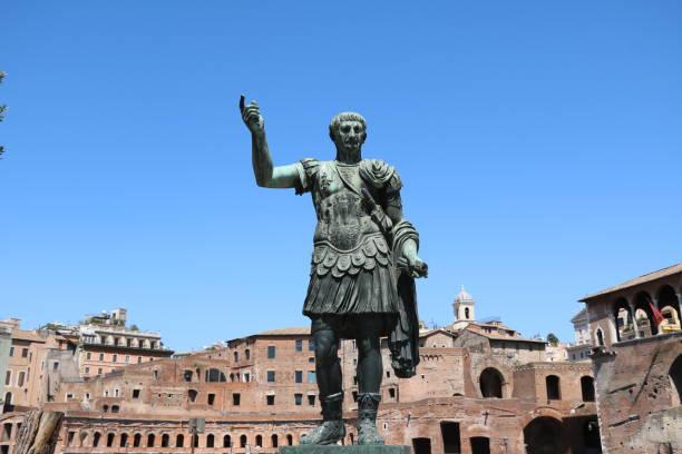 Gaius Iulius Caesar in Rome, Italy Gaius Iulius Caesar in Rome, Italy ancient rome stock pictures, royalty-free photos & images