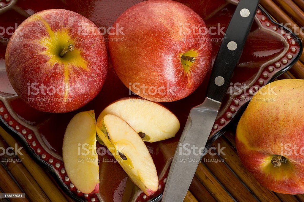 Gala Apples royalty-free stock photo
