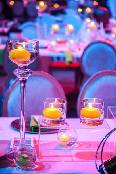 decoração de jantar de gala - eventos de gala - fotografias e filmes do acervo