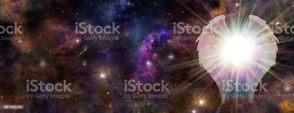 Galactic Guardian stock photo