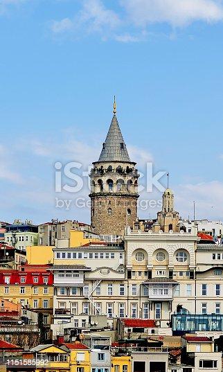 galata tower, istanbul karakoy