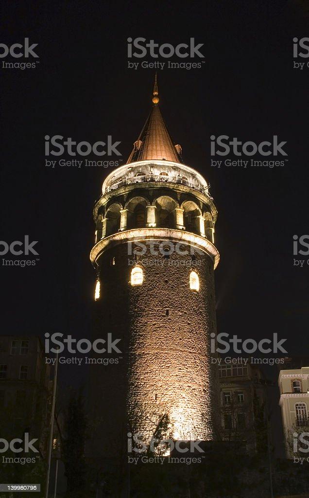 Galata Tower royalty-free stock photo