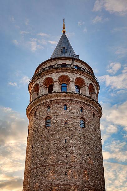 галатская башня - каракёй стамбул стоковые фото и изображения
