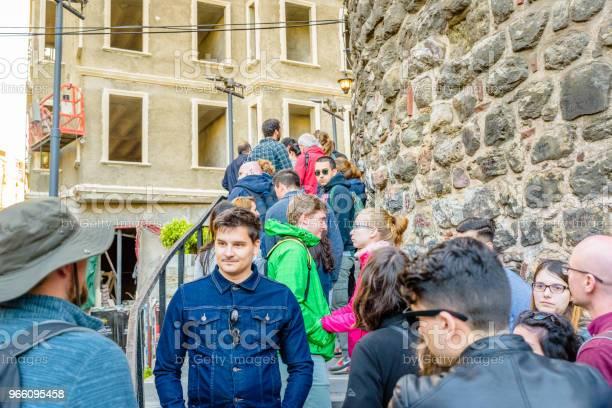 Galatatornet En Medeltida Sten Tower I Istanbul Turkiet-foton och fler bilder på Berömd plats