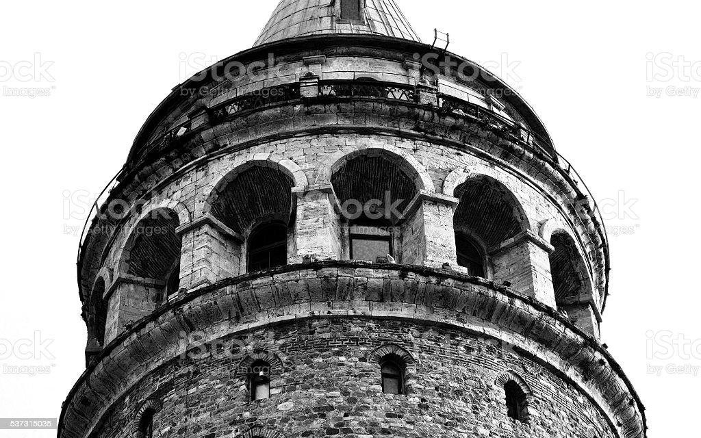 galata_tower stock photo