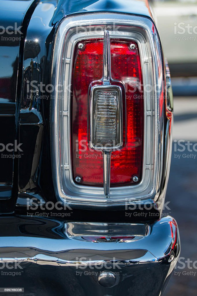 Galaxie Taillight stock photo